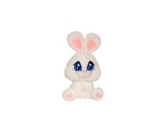 Мягкая игрушка СмолТойс «Зайчонок Тишка» 25 см белая