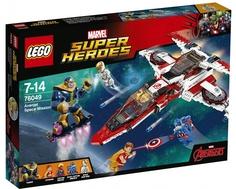 Конструктор LEGO Super Heroes 76049 Реактивный самолёт Мстителей: космическая миссия