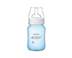 Бутылочка для кормления Philips AVENT «Classic+» с силиконовой соской 1 мес.+, 260 мл.