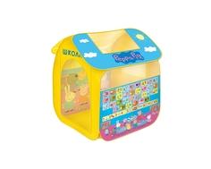 Палатка игровая Peppa Pig «Учим азбуку с Пеппой» 83х105х80 см