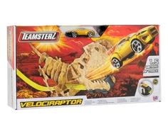 Автотрек HTI «Teamsterz: Динозавр Велоцераптор» с 1 машинкой и пусковой установкой