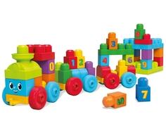 Развивающая игрушка Mega Bloks «Обучающий поезд»