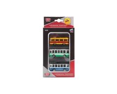 Игровой набор Технопарк «Городской транспорт» с 3 машинками 1:64