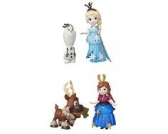 Игровой набор Disney Frozen «Маленькая кукла с другом» 7,5 см в ассортименте