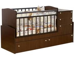 Кроватка-трансформер Daka Baby 02 венге Dakababy
