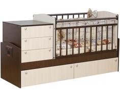 Кроватка-трансформер Daka Baby «Укачай-ка 02» комби Dakababy