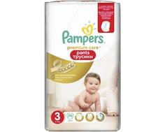 Трусики-подгузники Pampers Premium Care 3 (6-11 кг) 56 шт.