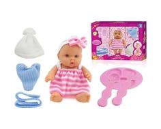 Кукла 1TOY «Мой малыш» с аксессуарами 18 см