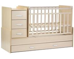 Кроватка-трансформер СКВ-Компани 534035 береза