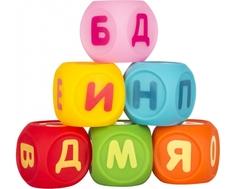 Набор игрушек-пищалок ПОМА «Кубики Учим буквы»