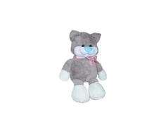Мягкая игрушка СмолТойс «Кот Федот» 60 см серая