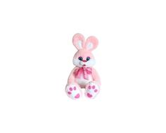 Мягкая игрушка СмолТойс «Зайка» 100 см розовая