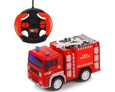 Машинка на радиоуправлении Yako «Пожарная» 1:20
