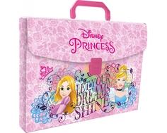 Папка-портфель Disney Princess с ручкой