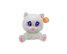 Мягкая игрушка СмолТойс «Котёнок Артёмка» 26 см белая