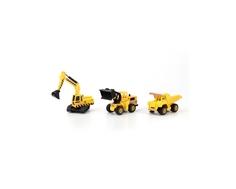 Игровой набор Технопарк «Строительная техника» с 3 машинками 1:72