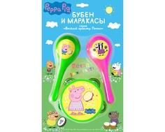 Игровой набор Peppa Pig «Бубен и маракасы»