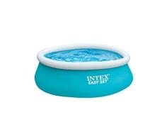 Бассейн надувной Intex «Easy Set» голубой
