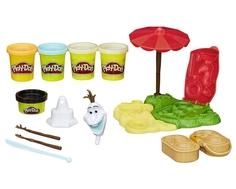 Игровой набор Play-Doh «Летние приключения Олафа»