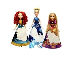 Кукла Disney Princess «Принцесса» в юбке с проявляющимся принтом 28 см в ассортименте