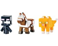 Игровой набор Minecraft с 3 фигурками в ассортименте
