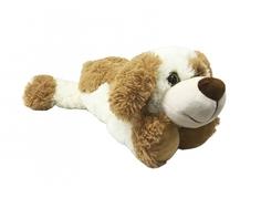 Мягкая игрушка СмолТойс «Щенок Рокки» 52 см молочная