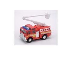 Пожарная машина Soma с пожарной стрелой и люлькой 12 см