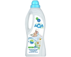 Бальзам для стирки шерсти и деликатных тканей AQA baby 1 л