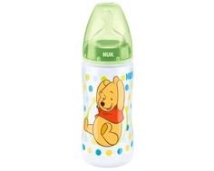 Бутылочка Nuk «First Choice Plus Disney» с соской из силикона с рождения, 300 мл.