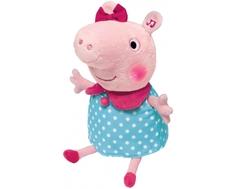 Мягкая игрушка Peppa Pig «Пеппа» 30 см голубая