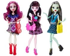 Кукла Monster High «Главные персонажи в модных нарядах» 29 см в ассортименте