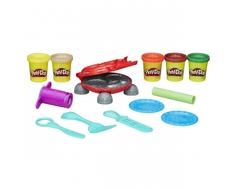 Игровой набор Play-Doh «Бургер гиль» с пластилином