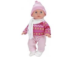 Кукла Карапуз «Пупс» интерактивная с аксессуарами 35 см