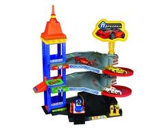 Игровой набор Технопарк «Парковка» с 3 машинками