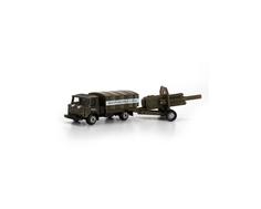 Игровой набор Технопарк «Военная техника: Машина и пушка» 1:64