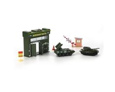 Игровой набор Технопарк «Военная часть» с 2 машинками