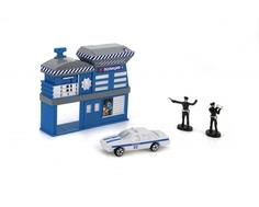 Игровой набор Технопарк «Полицейский участок» с 1 машинкой