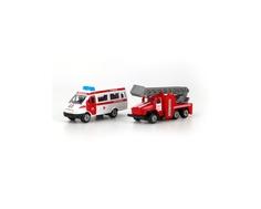 Игровой набор Технопарк «Спецтехника» скорая и пожарная машины