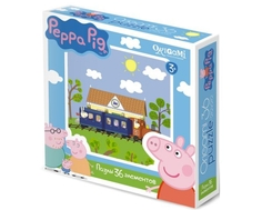 Пазл Origami «Peppa Pig: Железная дорога» 36 эл.
