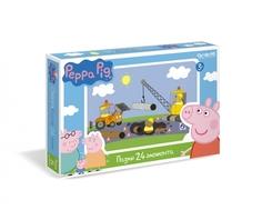 Пазл Origami «Peppa Pig: Стройка» 24 эл.