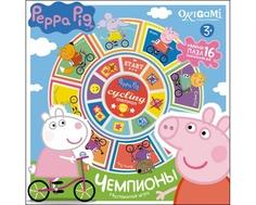 Настольная игра Origami «Peppa Pig: Чемпионы»