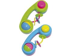 Погремушка ПОМА «Телефон» в ассортименте