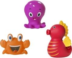 Набор игрушек для ванны Курносики «Обитатели морей»