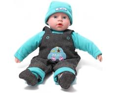 Кукла Lisa Jane «Mami» интерактивная в голубом дениме 40 см
