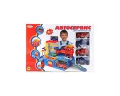 Игровой набор Играем вместе «Автосервис» с 4 машинками