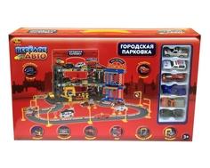 Игровой набор AВtoys «Парковка: Веселое Авто» с 6 машинками