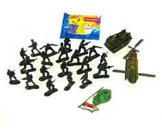 Игровой набор Юкей «Warfare» 15 солдатиков с аксессуарами в ассортименте