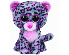 Мягкая игрушка TY Beanie Boos «Леопард Tasha» 15 см