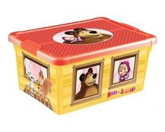 """Ящик для игрушек Пластишка """"Маша и Медведь"""", универсальный"""