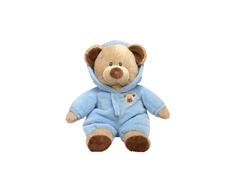 Мягкая игрушка TY Pluffies «Медведь» 25 см коричнево-голубая